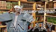 Prayer Times for December 2015